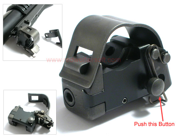 G&P Knight Type M203 QD Clip for Sun Project M203