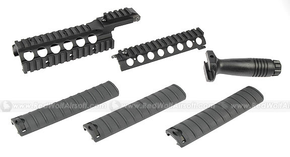 G&P RASII Handguard Kit for Tokyo Marui M4 / M16 Series <font color=yellow>(Clearance)</font>