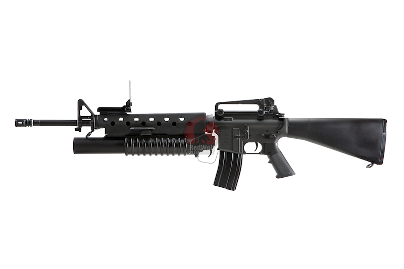 G&P M16A3 with M203 - Buy airsoft AEG / AEP online from ... M16 Airsoft