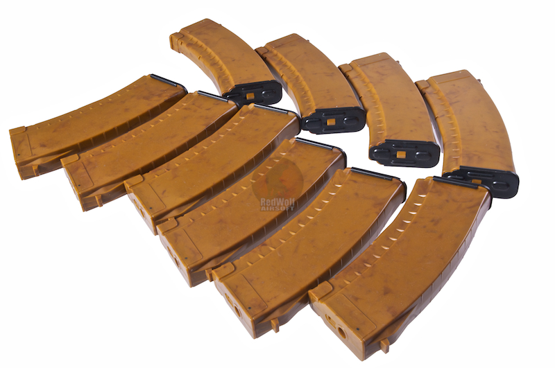 G&P 150rds Mid Cap AK74 Magazine 10pcs Package (Bakelite)