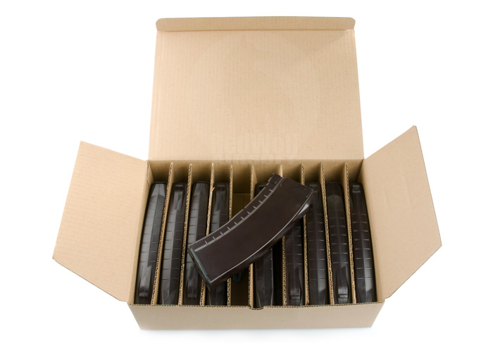 G&P 150rds Mid Cap AK74 Magazine 10pcs Package (Plum)