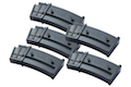 G&P 130rds Mid-cap Magazine for Model 36 AEG Series ( 5 pcs Box Set )