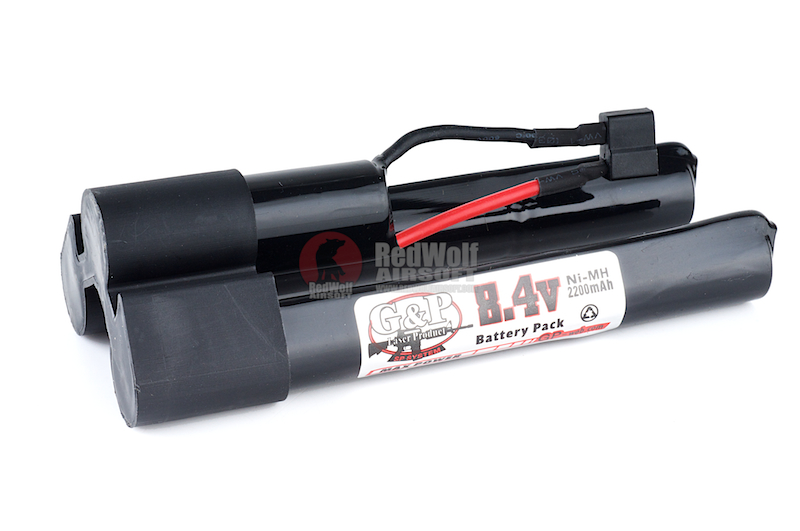 G&P 8.4v 2200mAh Battery for Extended Battery Buttstock (Ni-MH) <font color='red'>(Blowout Sale)</font>