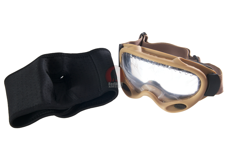 G&P Mask with Special Forces Goggle (Sand)