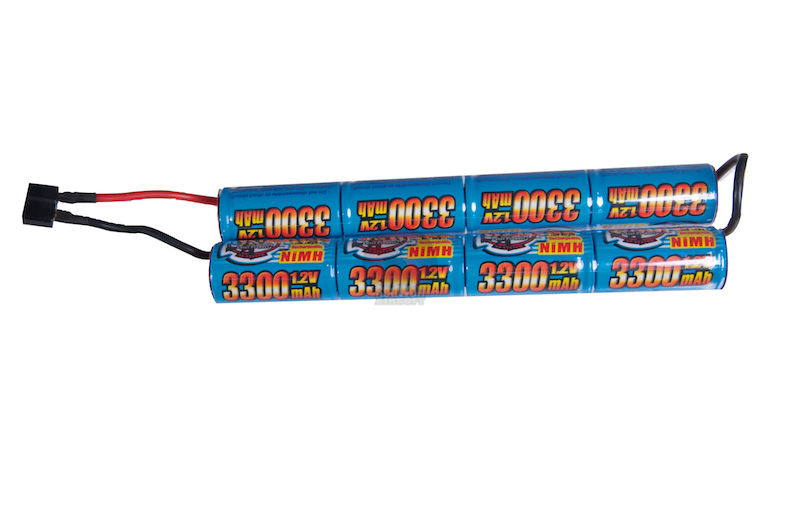 G&P 9.6v 3300mAh Battery (Ni-MH)(For EBR MK14 Mod O Conversion Kit) <font color=yellow>(Clearance)</font>
