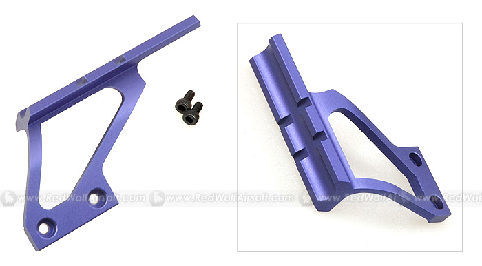 G&P Scope Mount Base (Short, Purple) for Marui Hi Capa