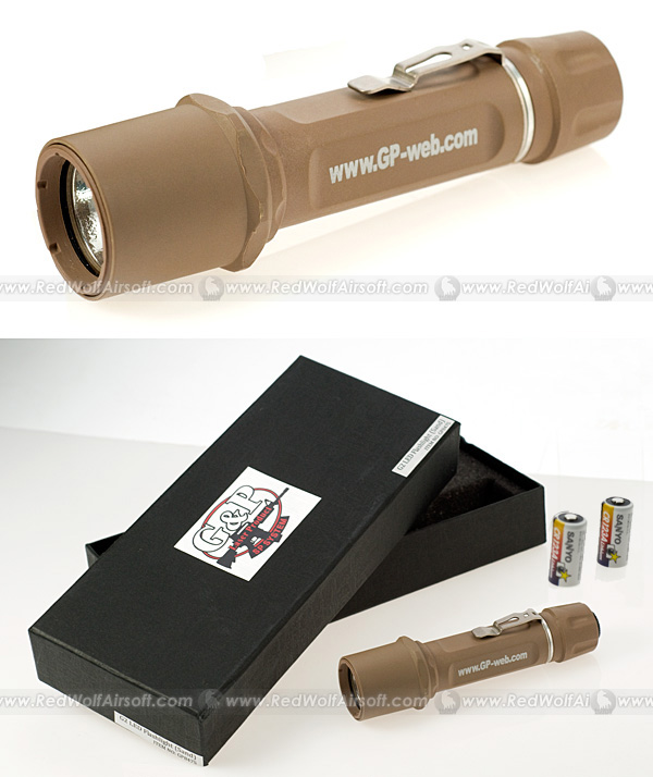 G&P G2 LED Flashlight (Sand)