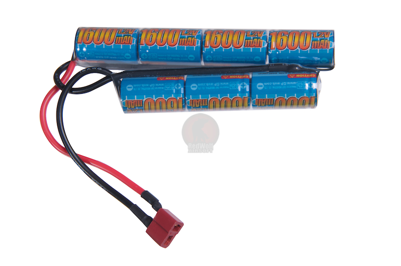 G&P 8.4v 1600mAh Mini Type Battery (Ni-MH / Deans)