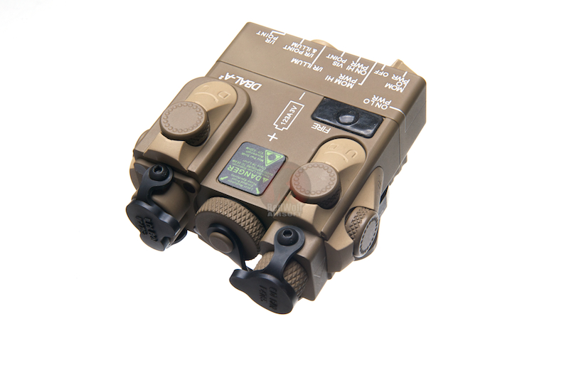 G&P PEQ-15A Laser Designator and Illuminator (Toy Only) - TAN<font color=yellow> (5G Sale)</font>