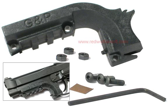 G&P Pistol Rail Mount for 92F (Trigger Guard Mount)