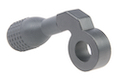 ARES Low-Profile Zinc Alloy CNC Cocking Handle Type B for Amoeba 'Striker' AST-01 Sniper Rifle-Matt Gray