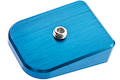 Gunsmith Bros Magazine Base Pad (No Marking) - Blue