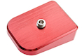 Gunsmith Bros Magazine Base Pad (No Marking) - Red
