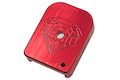 Gunsmith Bros Magazine Base Pad SV Diamond Style - Red