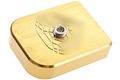 Gunsmith Bros Magazine Base Pad SV Diamond Style - Gold