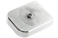 Gunsmith Bros Magazine Base Pad SV Diamond Style - Silver