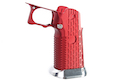 Gunsmith Bros Aluminum Grip (Limcat Style) for Tokyo Marui Hi-Capa GBB Series - Red