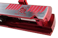 Gunsmith Bros CNC Aluminum Limited Razorcat Open Slide Set for Tokyo Marui Hi Capa 5.1 GBB - 2 Tone Red