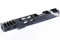 Gunsmith Bros CNC Aluminum Ultra Cut Open Upper Set for Tokyo Marui Hi Capa GBB Series - Black
