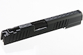 Gunsmith Bros Standard Single Slide Stacca Style for Tokyo Marui Hi-Capa 5.1/ 4.3/ 1911 GBB - Black