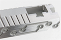 Gunsmith Bros SV Future 5.1 Single Slide for Tokyo Marui Hi-Capa GBB Series - Silver