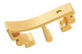 Gunsmith Bros Puzzle Trigger Front Style 1 - Gold