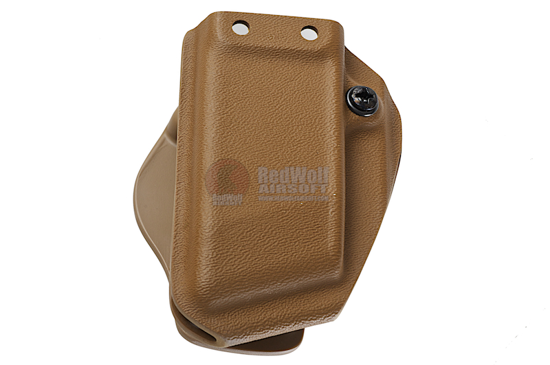 G-CODE ALL NEW Kydex Single Magazine Carrier for H&K USP / XDM (TAN) <font color=yellow>(Clearance)</font>