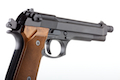 WE M92 Long Version with Brown Grip (Black) no marking