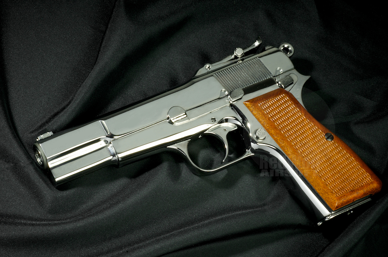 WE Browning Hi-Power M1935 (Silver)