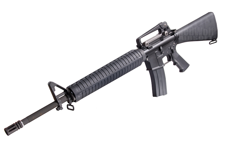 WE M16A3 Open Bolt Version
