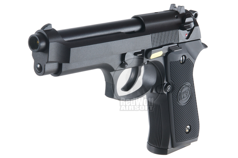 WE M92 No Marking (Black / Full Metal) Full Auto Version