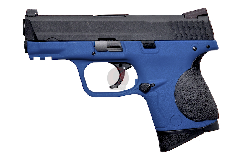 WE N&P XW40 Compact GBB (2 Magazines) - Blue
