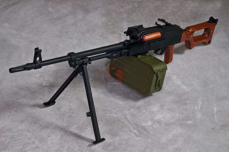 A&K PKM AEG (Wood Stock Version)