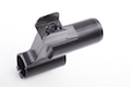 Hephaestus Steel Front Sight Block (Type A) w/ 14mm CW Barrel Adapter for GHK/LCT AK Series