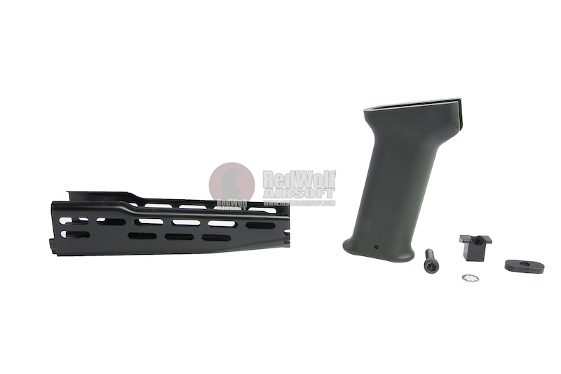 Hephaestus AMD-65 Handguard with Foregrip for GHK / LCT AK Series