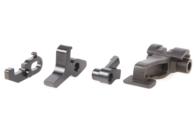 Hephaestus CNC Steel Fire Control Parts Set for GHK AK GBB System
