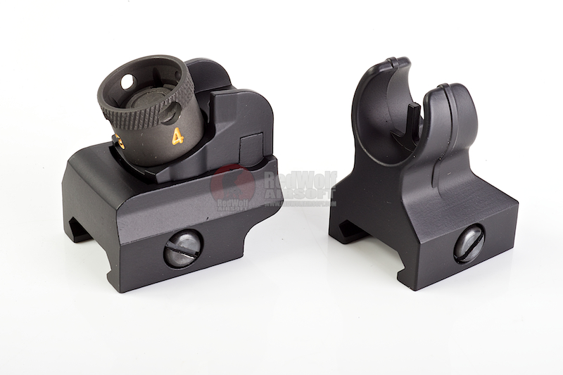 Hurricane M4 Front Sight & Rear Sight