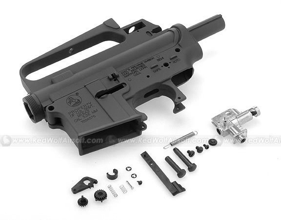 HurricanE M16A2 Metal Body - (w/ M16A2 marking) w/ Functional Ejection Port