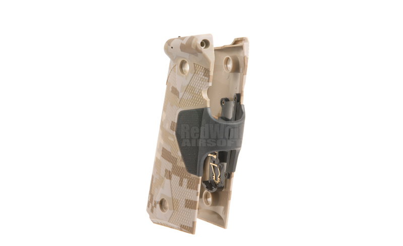 Hurricane Kbr Laser Grip - Brown Digital Camo