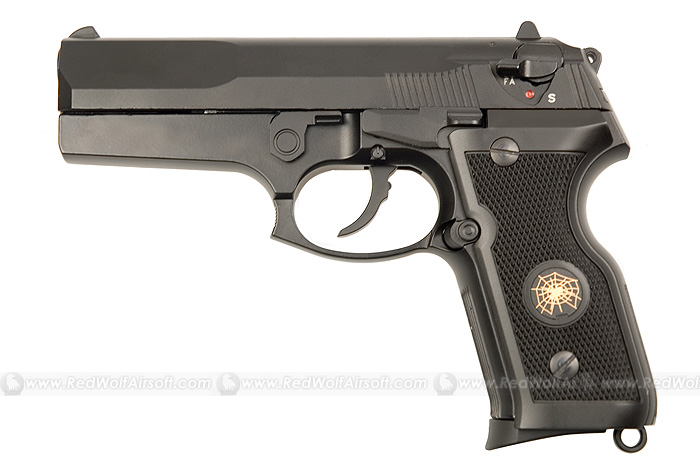 HFC Cougar (Full Metal, Full Auto, Black)