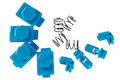 HEXMAG HexID System (4pcs Latchplates & Followers) - Nimbus Blue