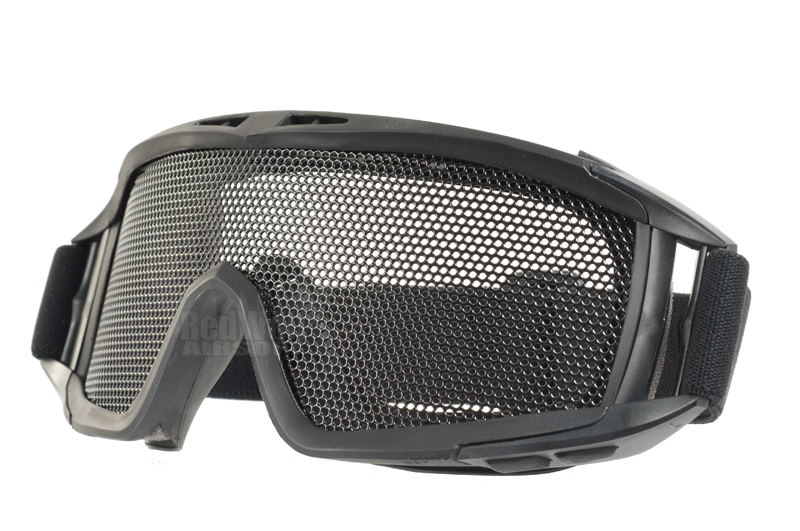 TMC Mesh Metal DL Style Goggles (BK)