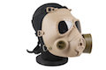 Optronics Toxic Mask style Fan Airsoft Mask (Sand)