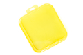 TMC GoPro HD Hero 3 Plus PC Under Sea Filter Cover - Yellow <font color=yellow>(Clearance)</font>
