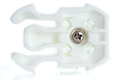 TMC 360 Turntable QD Buckle for GoPro Cam - White <font color=yellow>(Clearance)</font>