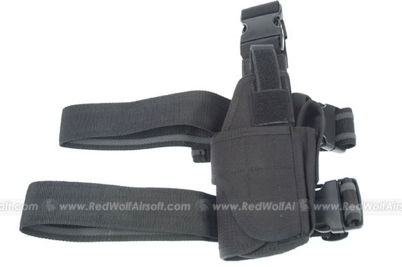 PANTAC Fully Adjustable Holster (Black /  Cordura)