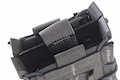 High Speed Gear X2R TACO Double Rifle Magazine Pouch - Wolf Grey