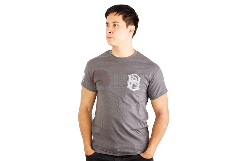 High Speed Gear Short Sleeve T-Shirt (S Size / Urban Grey) <font color=red>(HOLIDAY SALE)</font>