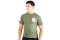 High Speed Gear Short Sleeve T-Shirt (M Size / OD Green)