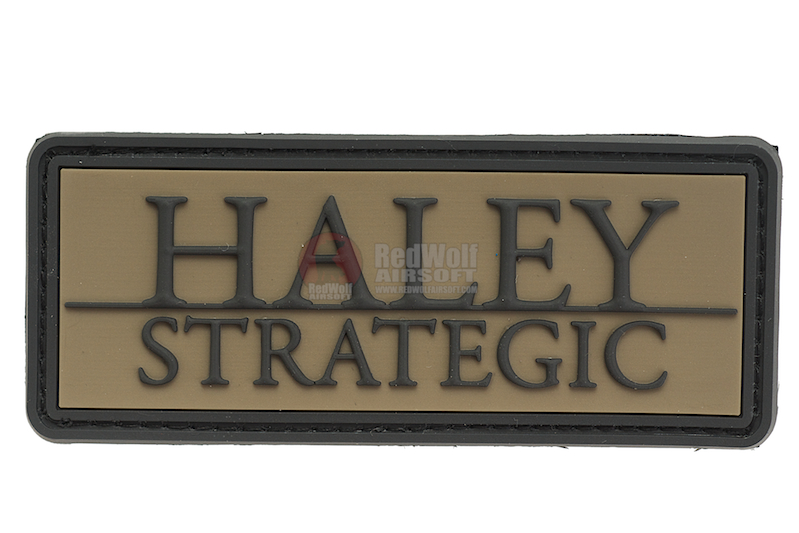 Haley Strategic Brand Olive Drab PVC Patch